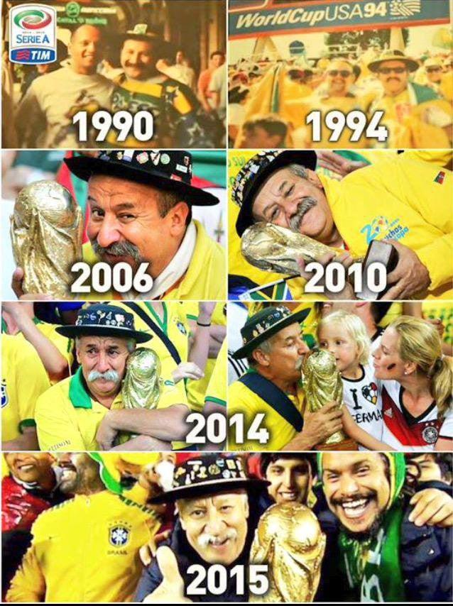 Bức ảnh chứa đựng câu chuyện xúc động về người đàn ông cầm cúp đi cổ vũ World Cup suốt gần nửa cuộc đời 3