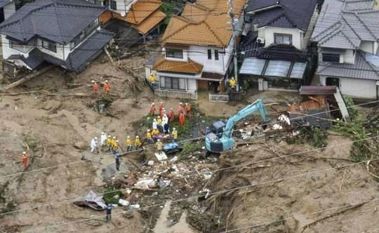 Nhật Bản: Hơn trăm người thiệt mạng và mất tích, sơ tán hàng triệu người do mưa lũ 3