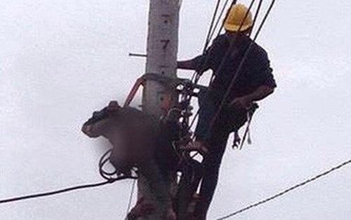 Dây điện giăng ngang đường sau mưa lớn giật một người tử vong 1