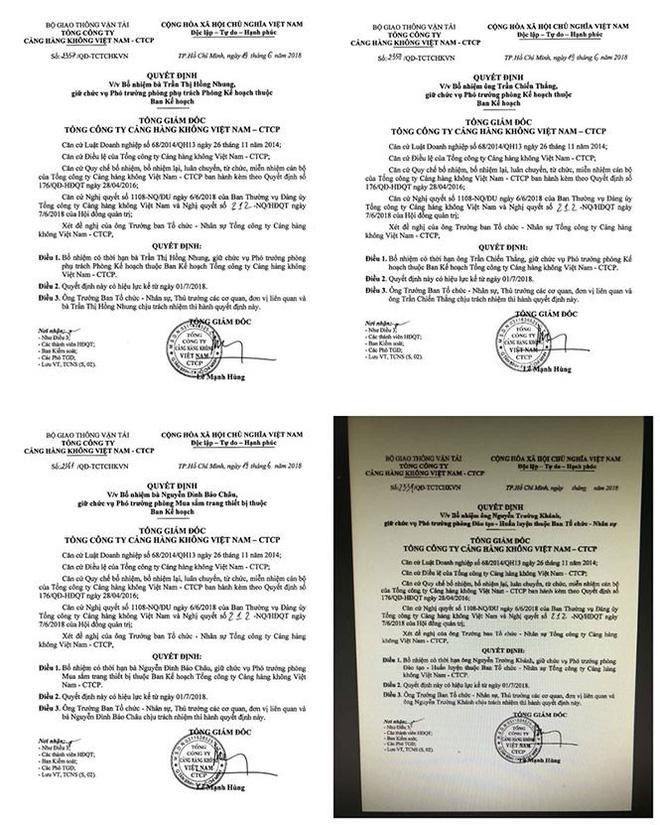 Tổng Giám đốc Cảng hàng không Việt Nam ký bổ nhiệm hơn 70 cán bộ trước khi về hưu 2