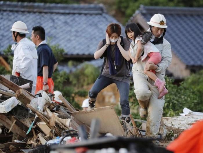 Mưa lũ tại Nhật Bản: Ít nhất 88 người chết, hàng chục nghìn người phải di tản 1