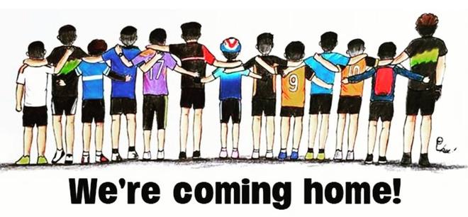 Những bức tranh dễ thương và ý nghĩa của dân mạng về hành trình giải cứu đội bóng Thái mắc kẹt 13