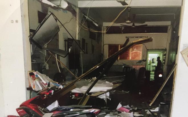 Nổ tại trụ sở công an huyện, nhiều cán bộ bị thương 1