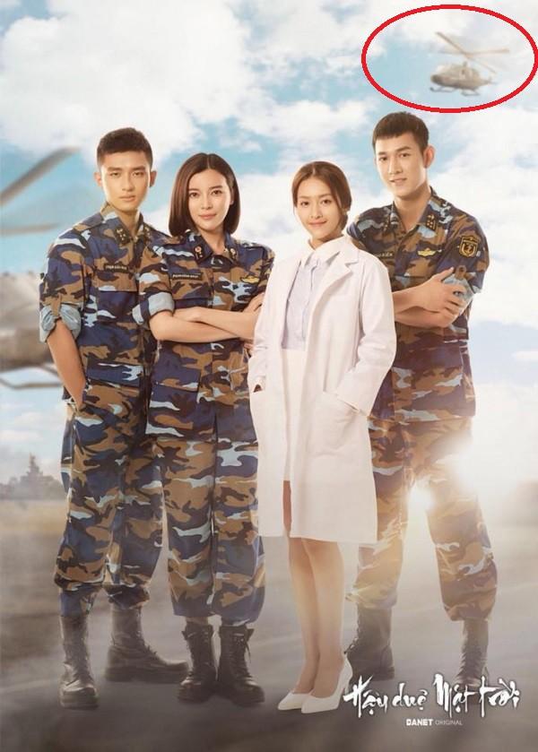 Poster Hậu duệ mặt trời bản Việt: Xuất hiện trực thăng... chưa từng có trong QĐ Việt Nam - Ảnh 1.