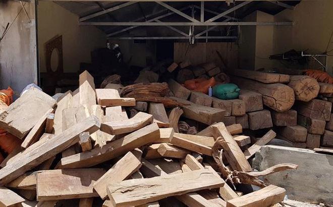Hình ảnh Số gỗ quý thu giữ tại nhà trùm ma túy Nguyễn Thanh Tuân: Chi cục trưởng Kiểm Lâm nói gì? số 1
