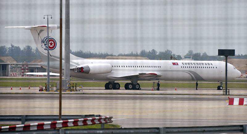 Máy bay của nhà lãnh đạo Kim Jong-un xuất hiện tại Nga 1