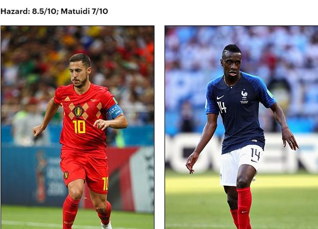 Bán kết World Cup Pháp - Bỉ: So sánh tương quan lực lượng 2 đội 11