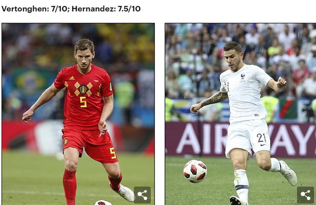 Bán kết World Cup Pháp - Bỉ: So sánh tương quan lực lượng 2 đội 5
