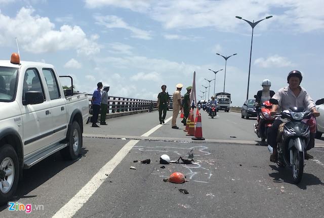 Bắt tài xế xe tải bỏ chạy, lẩn trốn tại Cà Mau sau khi tông chết 2 mẹ con trên cầu Cần Thơ 1