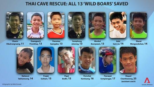 Giải cứu đội bóng mắc kẹt: Thái Lan thở phào sau hành trình gian nan 1