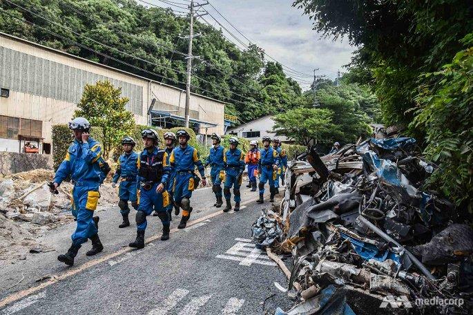 Hình ảnh Mưa lũ lịch sử tại Nhật Bản: Số người chết lên tới 199 người, hàng chục người mất tích số 3