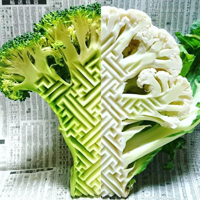 Chùm ảnh: Đỉnh cao của nghệ thuật cắt tỉa hoa quả là đây chứ đâu, dưa hấu, táo, lê bỗng chốc biến thành đèn lồng đẹp mê mẩn - Ảnh 4.