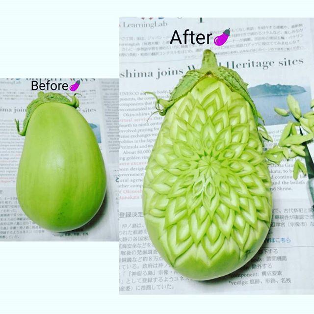 Chùm ảnh: Đỉnh cao của nghệ thuật cắt tỉa hoa quả là đây chứ đâu, dưa hấu, táo, lê bỗng chốc biến thành đèn lồng đẹp mê mẩn - Ảnh 9.