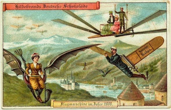 Năm 1900 người ta đã từng mơ tưởng về thế giới tương lai của năm 2000 ảo diệu đến thế này - Ảnh 2.