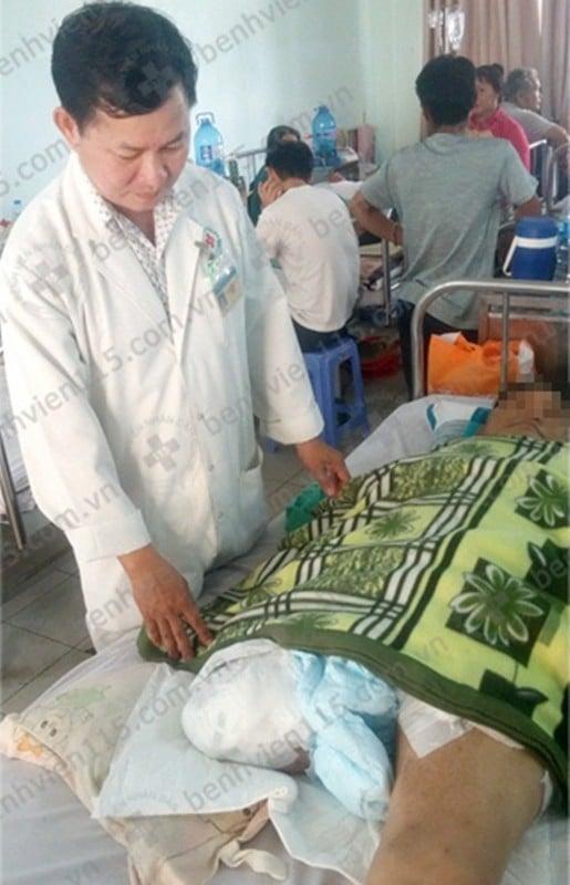 Hình ảnh Uống thuốc tim mạch không đều, người đàn ông 46 tuổi phải cắt bỏ chân số 2