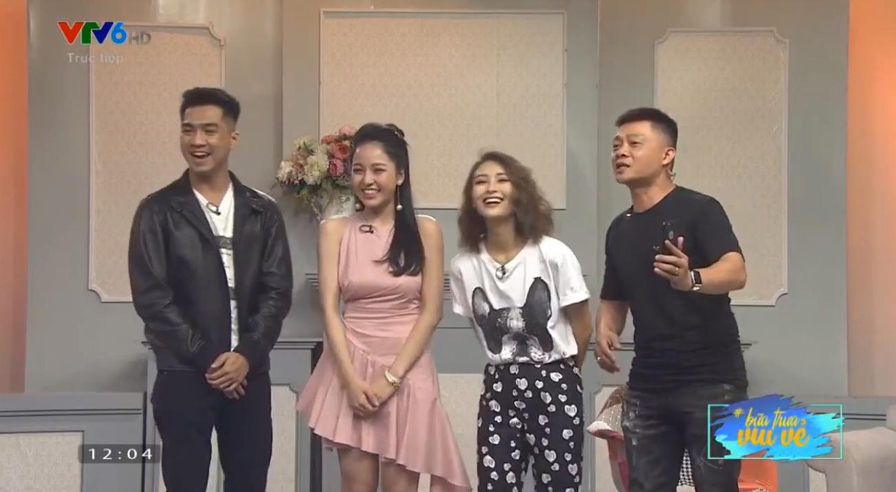 PewPew từ Sài Gòn ra Hà Nội tỏ tình với Trâm Anh lần nữa trên sóng truyền hình trực tiếp và cái kết - Ảnh 4.
