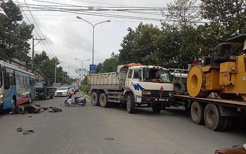 Phóng viên bị chủ doanh nghiệp vận tải dọa giết khi tác nghiệp vụ tai nạn 1