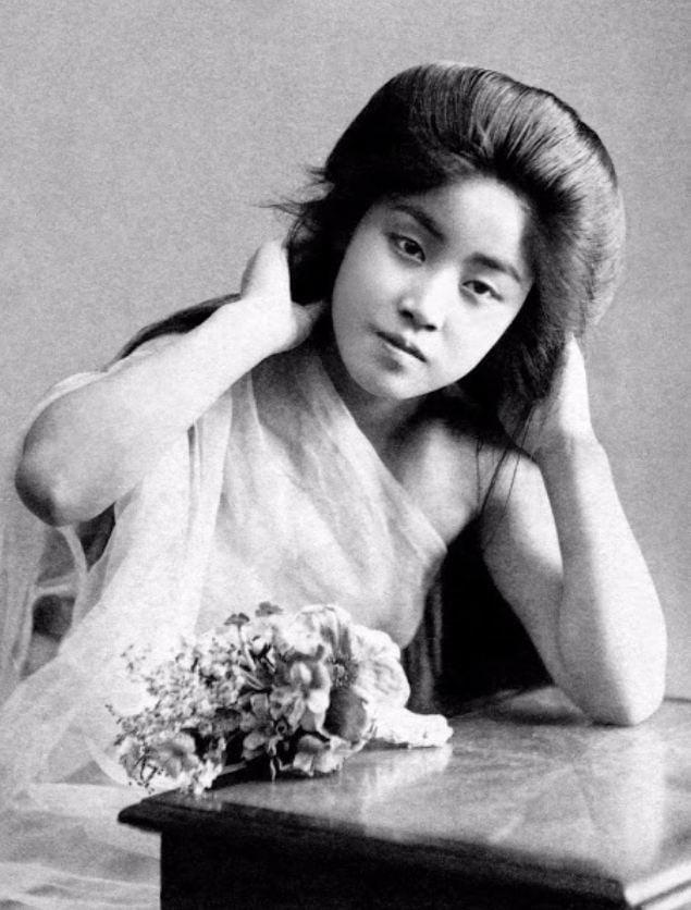 15 bức ảnh mặt mộc không son phấn của các nàng geisha thế kỷ 19 đẹp đến ngỡ ngàng làm bạn không thể rời mắt 16