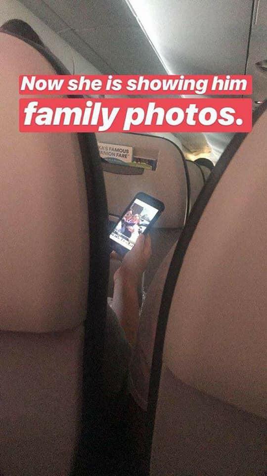 Tình cờ đổi chỗ để được ngồi cạnh chồng trên máy bay, cô gái đã tạo nên một câu chuyện tình siêu cute làm chao đảo cộng đồng mạng. 6
