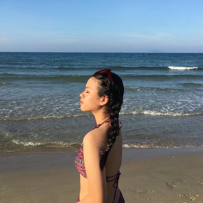 Mới ngày nào bé mũm mĩm, con gái út của nghệ sĩ Chiều Xuân giờ đã lớn phổng, tự tin diện bikini hút mắt - Ảnh 10.