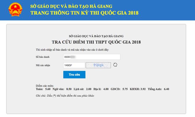 Điểm số thật của 3 thí sinh Hà Giang từng nằm trong top 11 thí sinh có điểm thi THPT cao nhất nước - Ảnh 4.