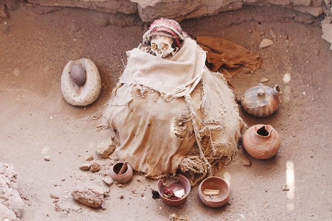 Chauchilla - nghĩa trang của những bộ hài cốt ngồi xổm còn nguyên bộ tóc suôn dài và gương mặt cười đầy vẻ phấn khích 3