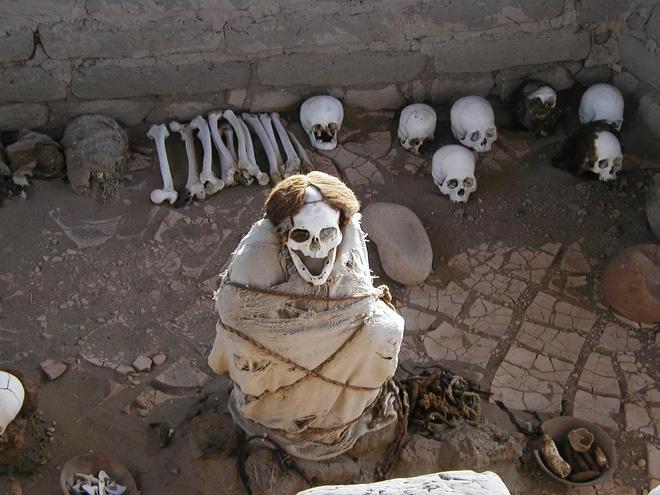 Chauchilla - nghĩa trang của những bộ hài cốt ngồi xổm còn nguyên bộ tóc suôn dài và gương mặt cười đầy vẻ phấn khích 4