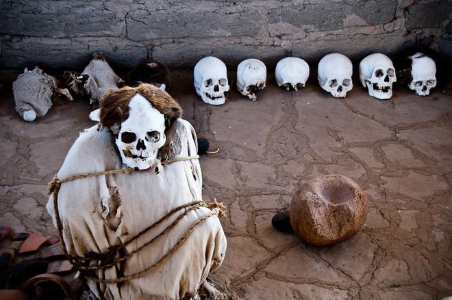 Chauchilla - nghĩa trang của những bộ hài cốt ngồi xổm còn nguyên bộ tóc suôn dài và gương mặt cười đầy vẻ phấn khích 5