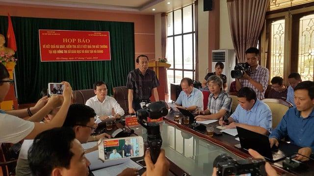 Vụ nâng điểm thi ở Hà Giang: Cần thanh tra các địa phương khác 1