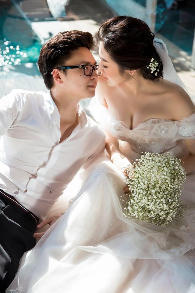Ảnh cưới lãng mạn của Á hậu Tú Anh và chồng thiếu gia 2