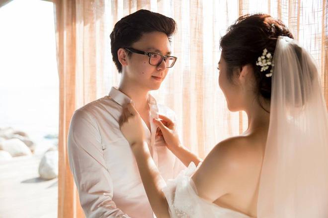 Ảnh cưới lãng mạn của Á hậu Tú Anh và chồng thiếu gia 9