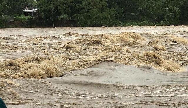 35 người đi hái măng ở Nghệ An bị nước lũ cô lập, chưa thể về nhà 1