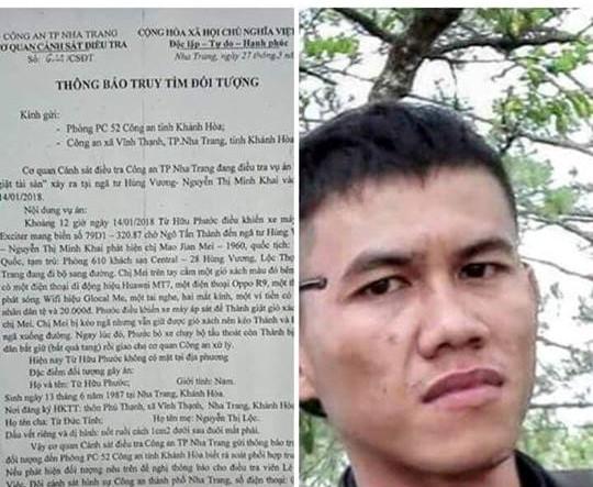 Hình ảnh Truy nã cựu tuyển thủ U23 Việt Nam số 1