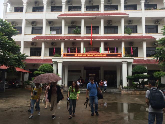 Xin ý kiến lãnh đạo Bộ chấm thẩm định lại môn Ngữ Văn tại cụm thi Lạng Sơn 1
