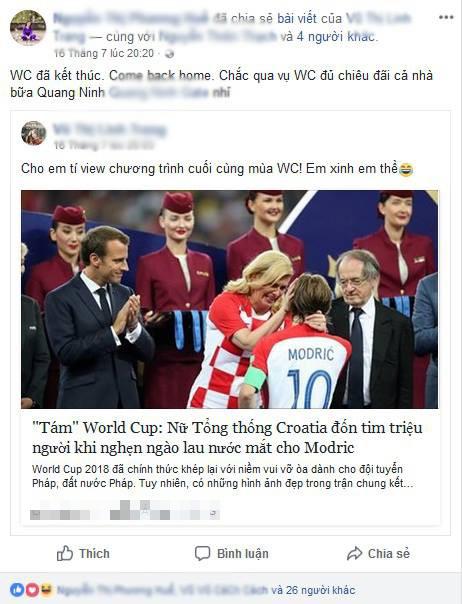 Khi phụ huynh chơi Facebook: Bà mẹ share tất cả các bài viết của con, tag đầy đủ bạn bè 1