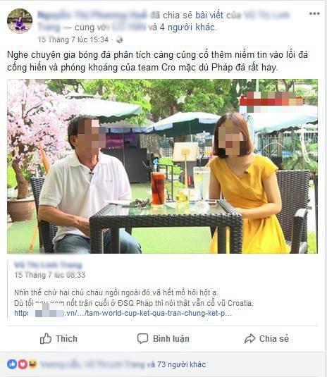 Khi phụ huynh chơi Facebook: Bà mẹ share tất cả các bài viết của con, tag đầy đủ bạn bè 3