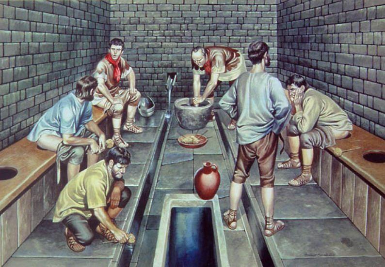 Những sự thật khó tin về cuộc sống của người La Mã cổ: đánh răng bằng nước tiểu, ăn no quá nôn luôn tại bàn 6