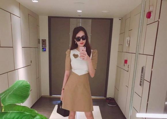 Bất ngờ với bí kíp giảm 13kg sau sinh của Hoa hậu Thu Thảo 1