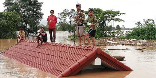 Vỡ đập thuỷ điện tại Lào: Việt Nam hỗ trợ 200.000 USD khắc phục sự cố 1