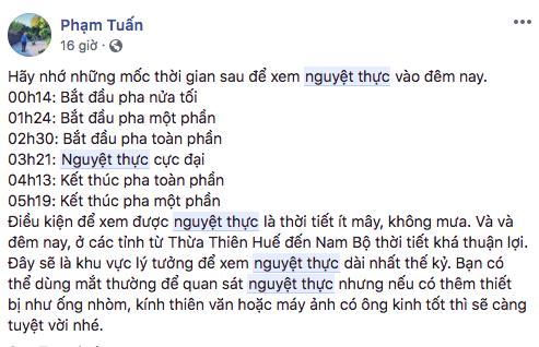 Giới trẻ Việt nô nức rủ nhau xem Nguyệt thực - sự kiện thiên văn hấp dẫn nhất thế kỷ 15