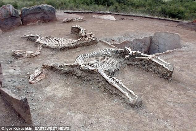 Cặp hài cốt bí ẩn 5.000 năm tuổi được ví như Romeo, Juliet ở Kazakhstan  - Ảnh 2.