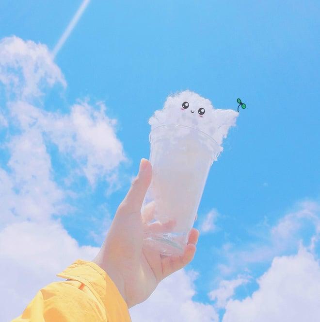 Bị mẹ bắt đi rửa bát, thanh niên cao hứng sáng tạo luôn một bộ ảnh siêu đáng yêu với mây trời 8