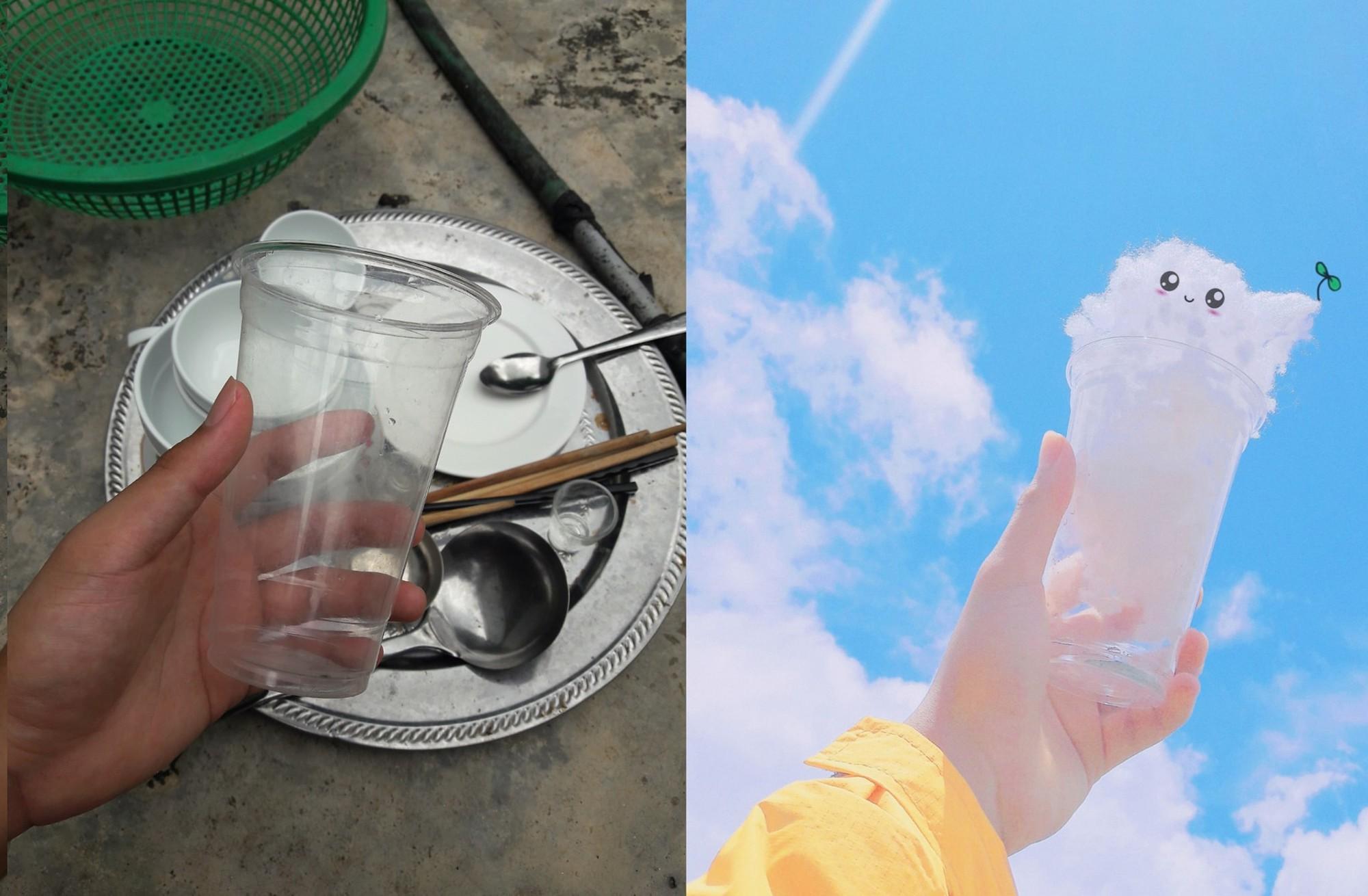 Bị mẹ bắt đi rửa bát, thanh niên cao hứng sáng tạo luôn một bộ ảnh siêu đáng yêu với mây trời 4