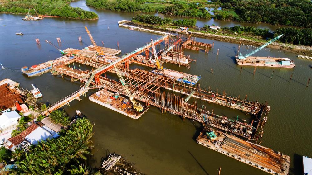 Chùm ảnh: Toàn cảnh sự 'bất động' của loạt công trình chống ngập ở Sài Gòn vì... thiếu vốn, không còn bóng công nhân 5