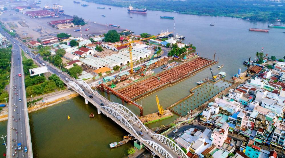 Chùm ảnh: Toàn cảnh sự 'bất động' của loạt công trình chống ngập ở Sài Gòn vì... thiếu vốn, không còn bóng công nhân 22