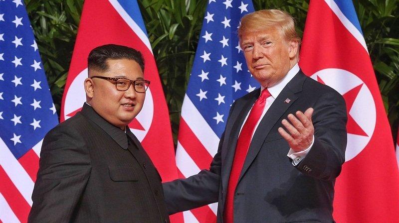 Tổng thống Trump mong sớm gặp lại ông Kim Jong-un 1