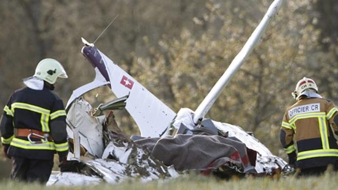 Rơi máy bay từ thời Thế chiến II tại Thụy Sỹ, khoảng 20 người thiệt mạng 2