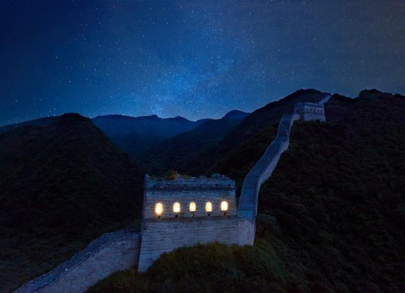 Chùm ảnh: Khách sạn đẹp ảo mộng trên tháp canh của Vạn Lý Trường Thành 14