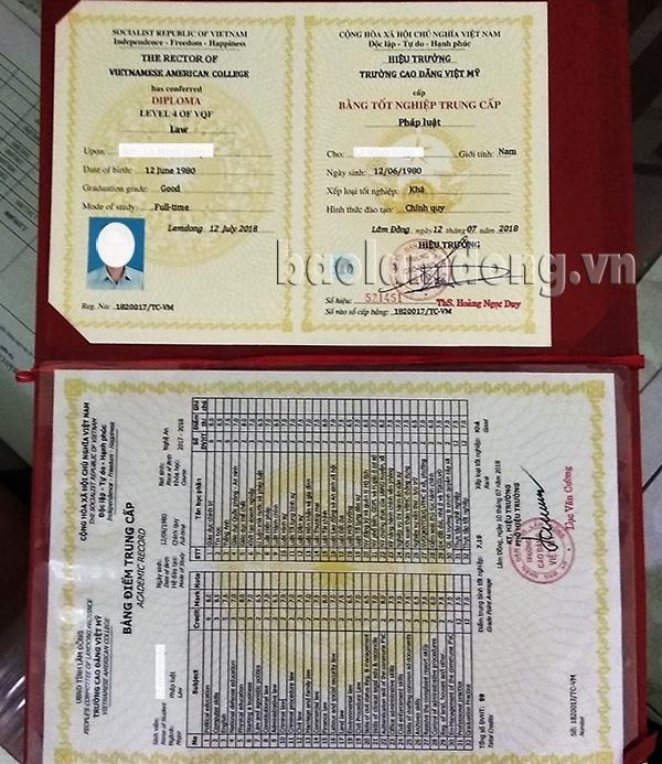 Tự phong cho mình chức danh Hiệu trưởng, mở trường Cao đẳng 'chui' ở Lâm Đồng 2