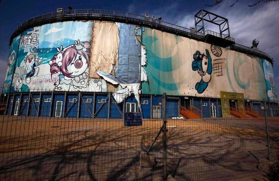 10 năm nhìn lại sân vận động Tổ chim Olympic Bắc Kinh 2008: Hoang tàn đến ám ảnh, niềm tự hào giờ chỉ còn là nỗi tiếc nuối 5